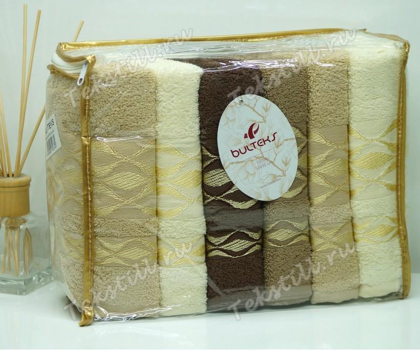 Махровые Банные Полотенца 70x140 см. 6 шт/уп. Melis Cafe - BULTEKS