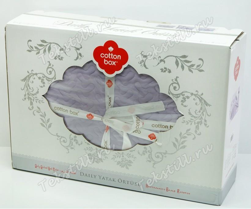 Покрывало 260x240 см. с Наволочками ЕВРО Ранфорс Daily Yatak - cotton box