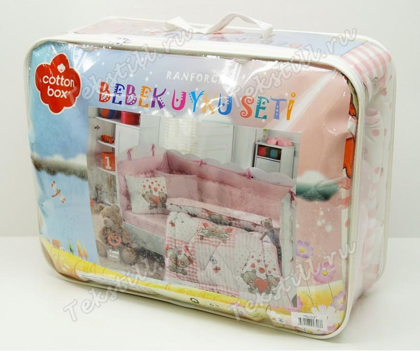 Детский Комплект Постельного белья Bebek Ranforce Uyku Seti Oyun Bahcesi - cotton box