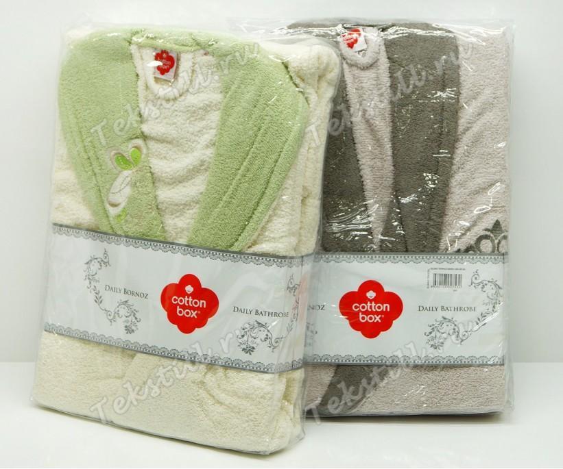 Махровый Халат Женский S/M Daily Bukle Bayan - Cotton Box