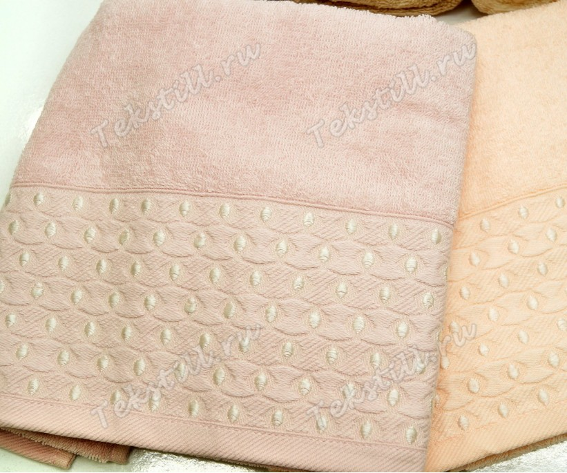 Махровые Лицевые Полотенца 50x90 см. 6 шт/уп. Noktali 172 - Soft Kiss