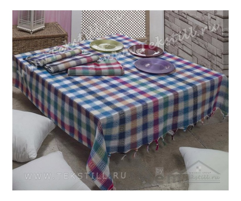 Скатерть для кухонного стола 150x150 см. - Gozde