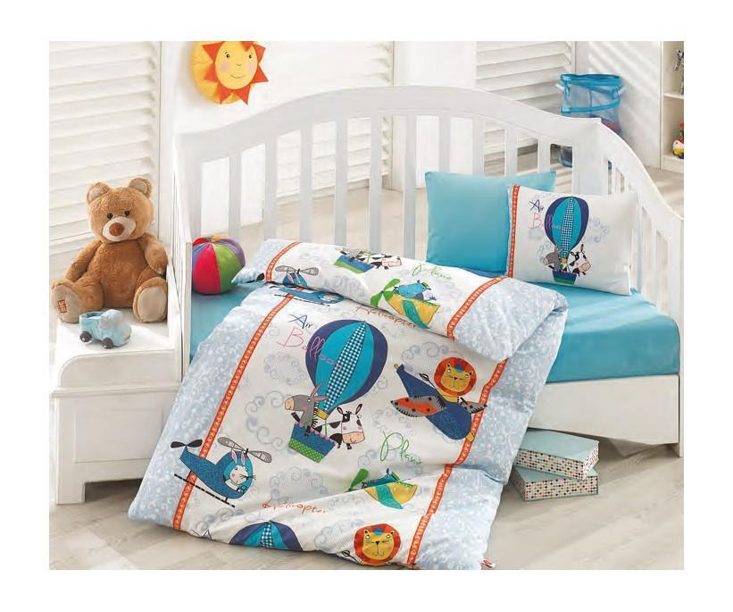 Детский Комплект Постельного белья Bebek Ranforce Uyku Seti Midilli - cotton box