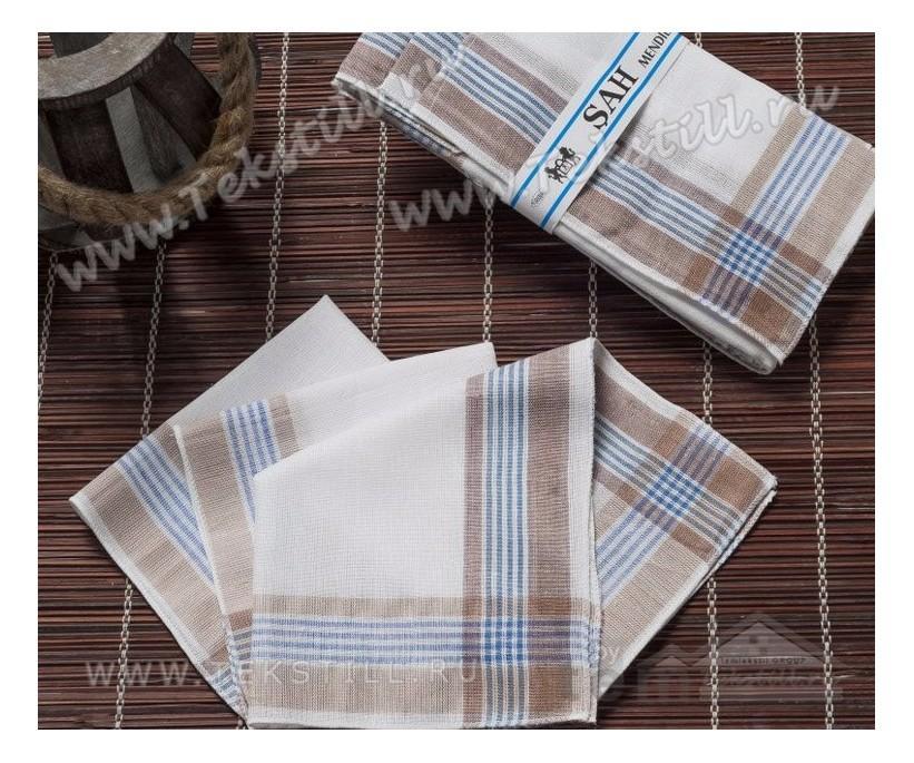 Носовые платки мужские 12 шт./уп. 30x30 см. SAH - Gozde