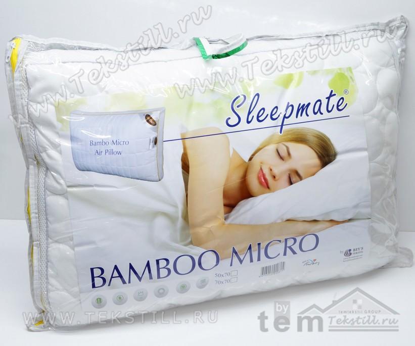 Подушка Дышащая из бамбука 50x70 см. BAMBOO MICRO AIR Sleepmate - Beys