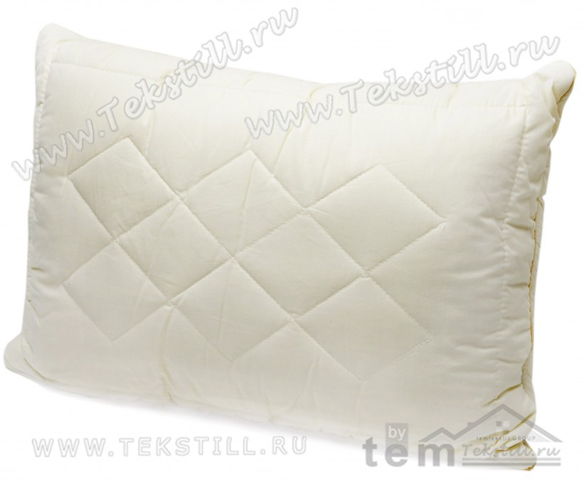 Подушки из Овечьей Шерсти со Съемным Чехлом 50x70 см. WOOL - ByTem
