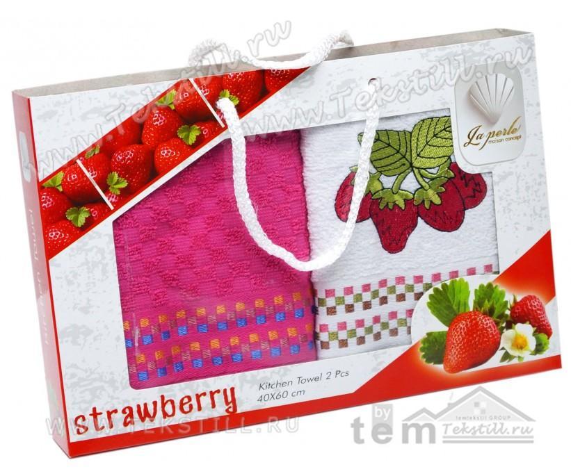 Махровые Кухонные Полотенца с Вышивкой 40x60 см. 2 шт./уп. FRUTA - DNZ
