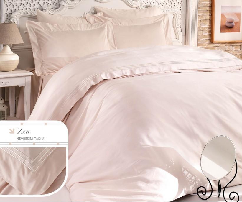 Комплект Постельного Белья с Вышивками Zen - Royal Nazik