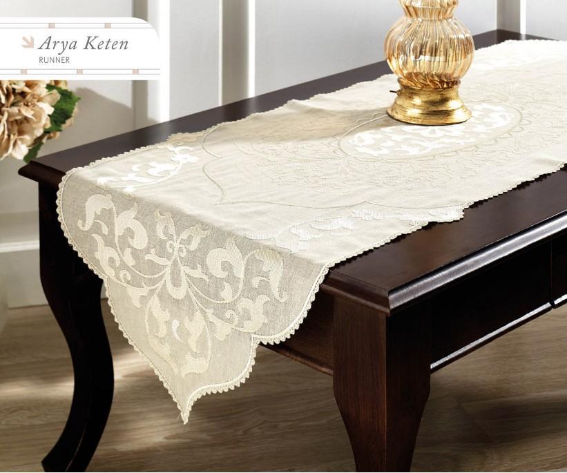 Раннер 45x140 см с Декоративной Вышивкой  - Royal Nazik