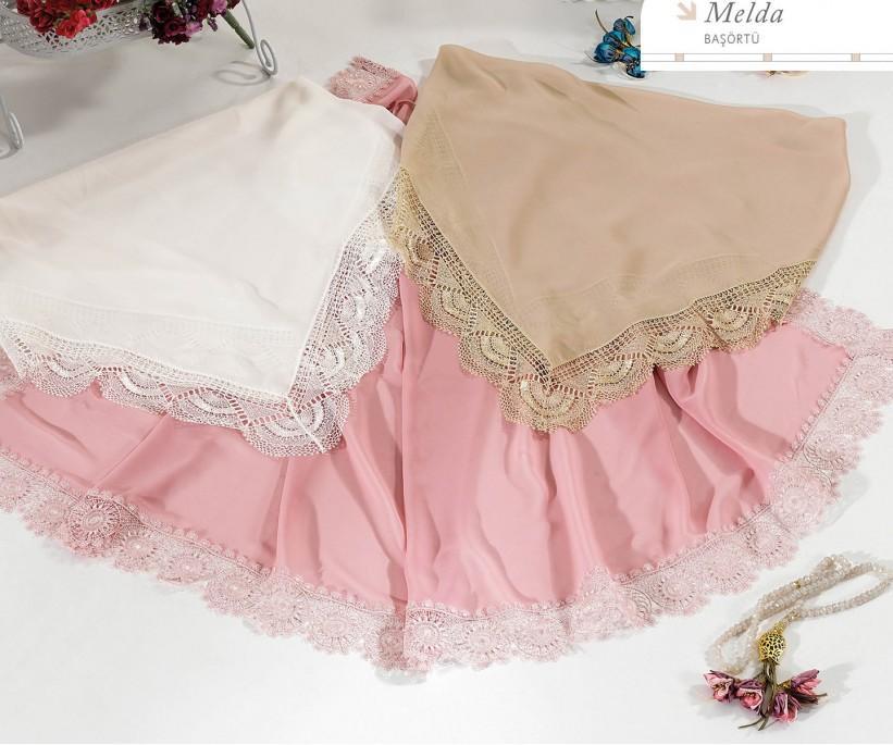 Платок для Намазa 75x150 см 1 шт - Melda Basortu - Royal Nazik