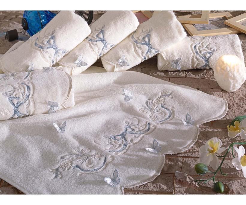 Бамбуковые Лицевые Полотенца 50x90 см 6 шт/уп Bamboo 6li El Havlusu - Dantela Vita