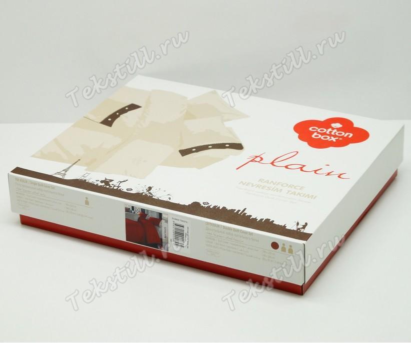 Комплект Постельного Белья Евро 2 сп. Ранфорс Plain Sport Ranforce - cotton box