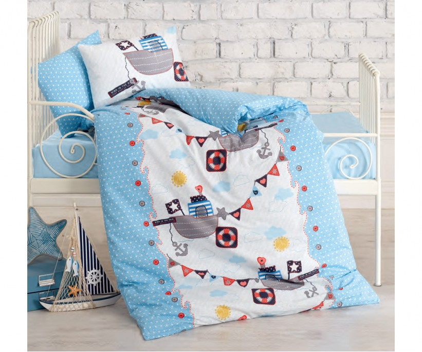 Постельное белье из ранфорса для новорожденных Bebek Ranforce Antiye - cotton box