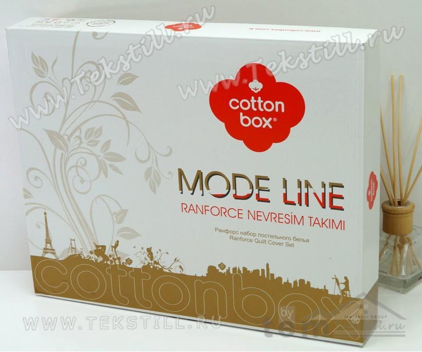Комплект Постельного Белья 1 сп. Ранфорс Maritime Marina Mavi - cotton box