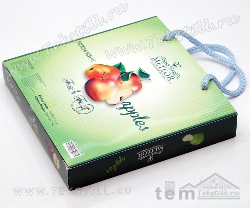 Набор Полотенец Махровый с Вафельным 30x50 см. 2 шт./уп. Coffee - SOYUZ