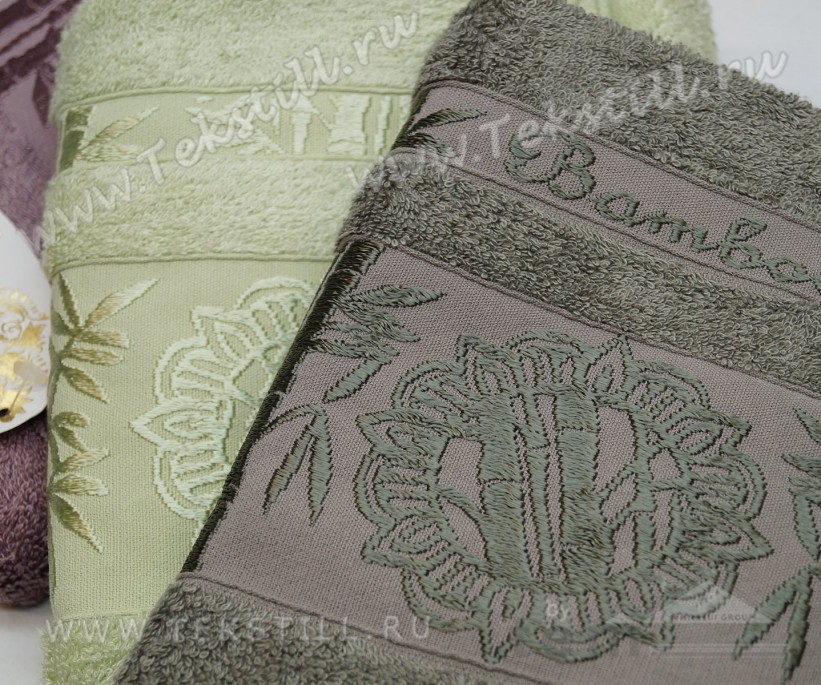 Бамбуковые Лицевые Полотенца 50x90 см. 6 шт/уп. e868 Bamboo VIP - PHILIPPUS