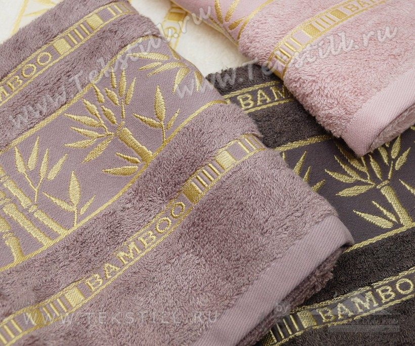 Бамбуковые Банные Полотенца 70x140 см. 6 шт/уп. e817 Bamboo GOLD - PHILIPPUS