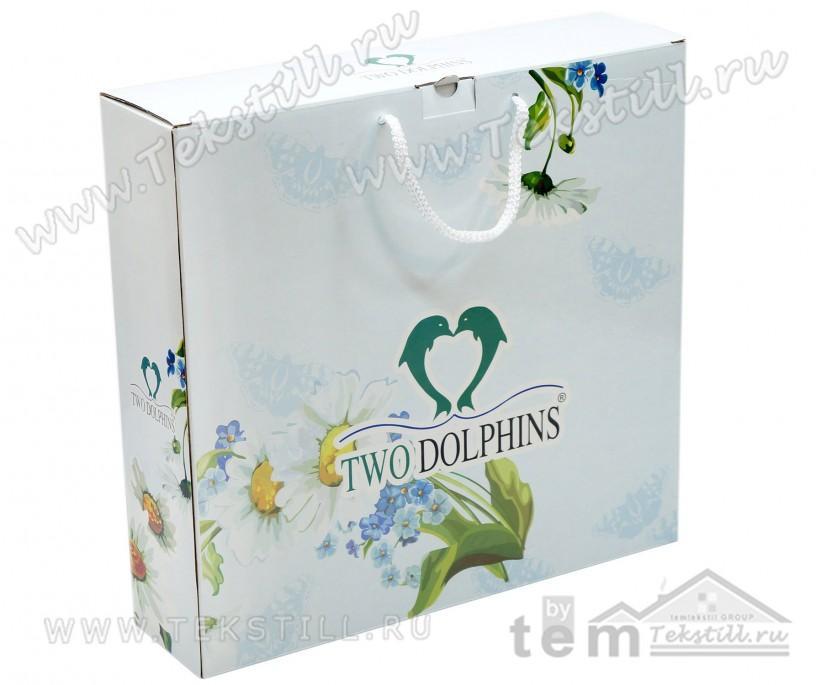 70x140 см. + 50x90 см. + 50x90 см. Махровый Набор Полотенец 3 шт/уп. Daisy Flowers TWO DOLPHINS