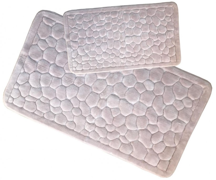 Набор Ковриков Organic Stone Pudra ecocotton