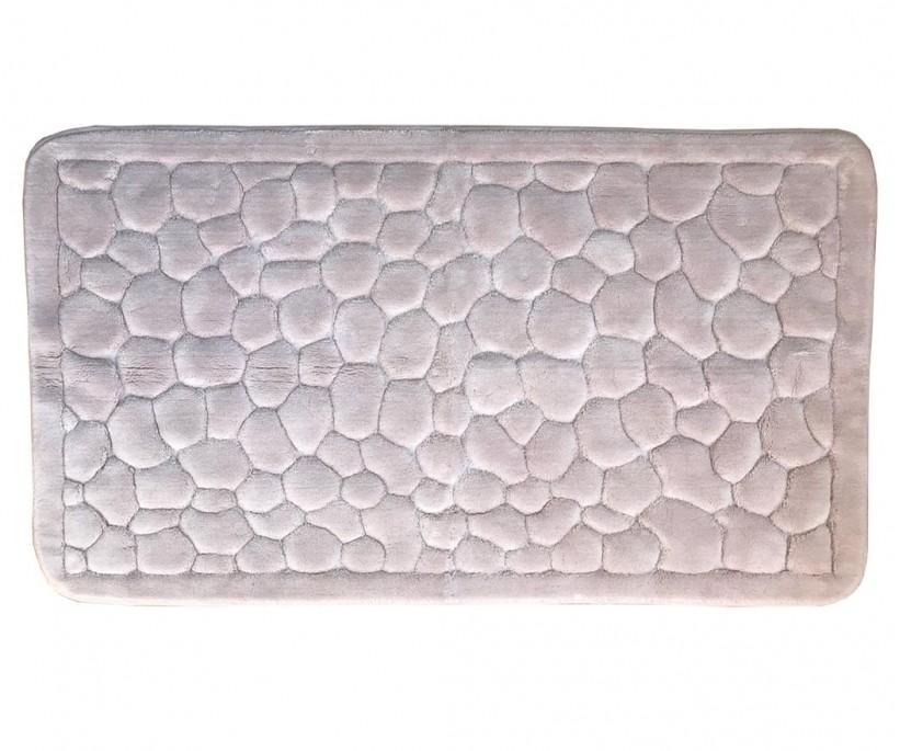 Ванный Коврик 70x150 см. Organik Stone Pudra ecocotton