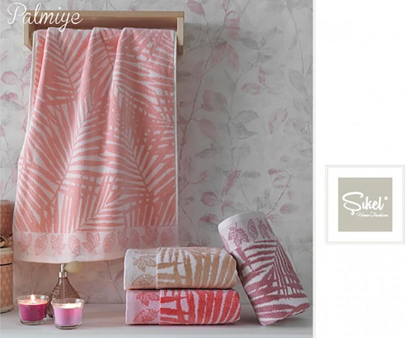 Велюровые Лицевые Полотенца 50x90 см. 6 шт/уп. Серый Wonderful Palmie - Sikel