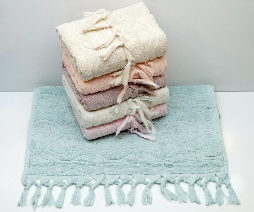 Махровые Лицевые Полотенца 50x90 см. 6 шт/уп. Cotton Marina - Sikel