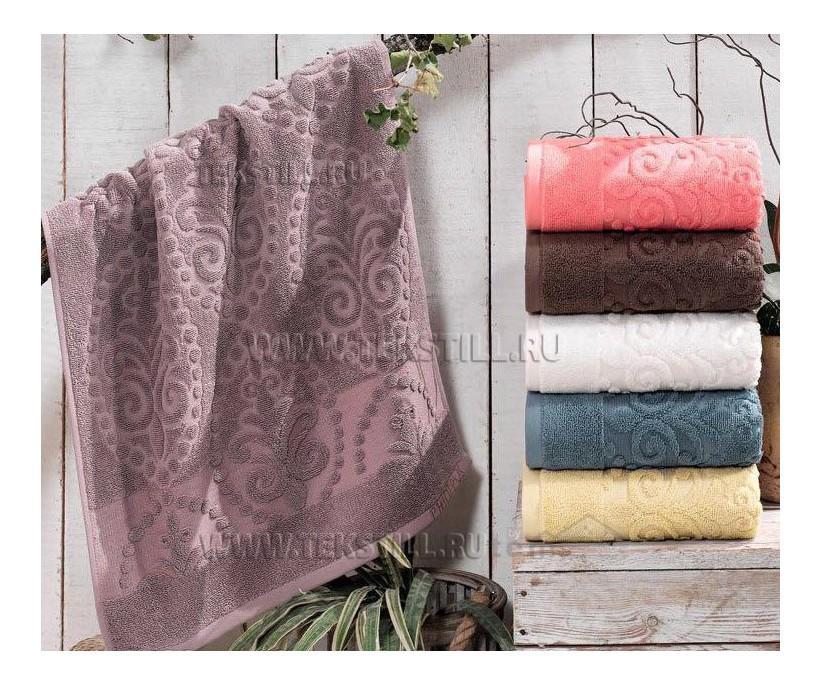 Махровые Лицевые Полотенца 50x90 см. 6 шт/уп. Lux Cotton E742 Mandy - PHILIPPUS