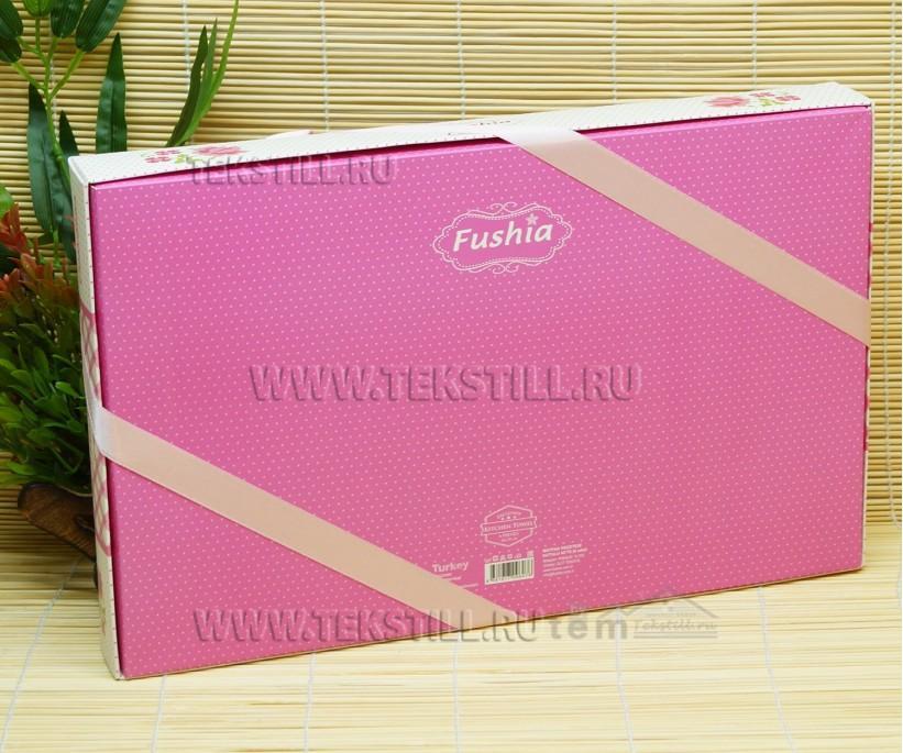 Кухонные Вафельные Полотенца Салфетки 45x70 см. 6 шт/уп. Saten - Fushia