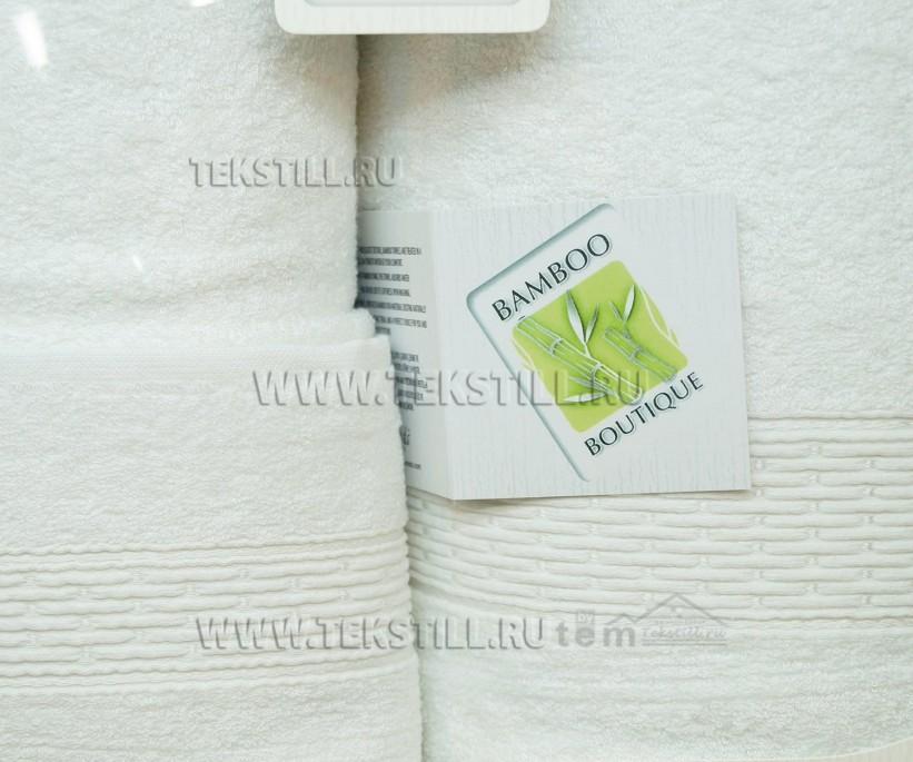 Набор Махровых Полотенец с вышивкой 70x140 + 50x90 + 30x50 см. 3 шт/уп. BOUTIQUE - Belinda