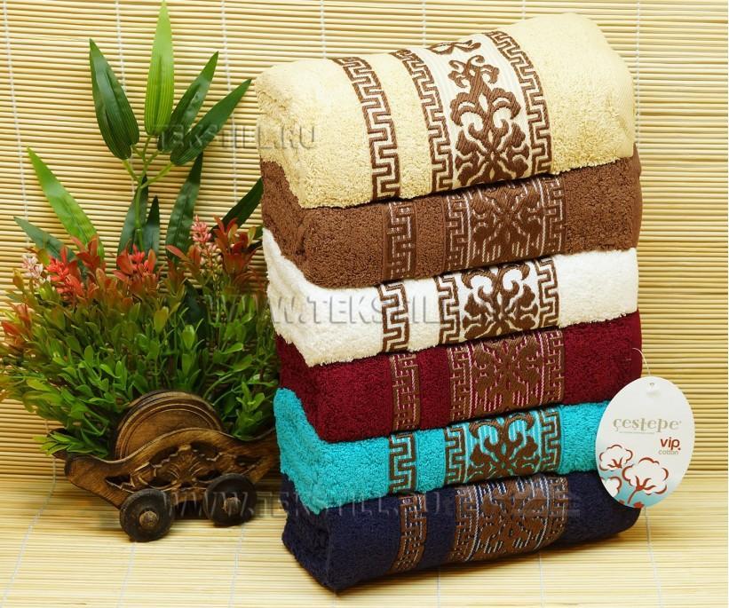 50x90 см. 6 шт/уп. Махровые Лицевые Полотенца Ottoman Cotton - Cestepe