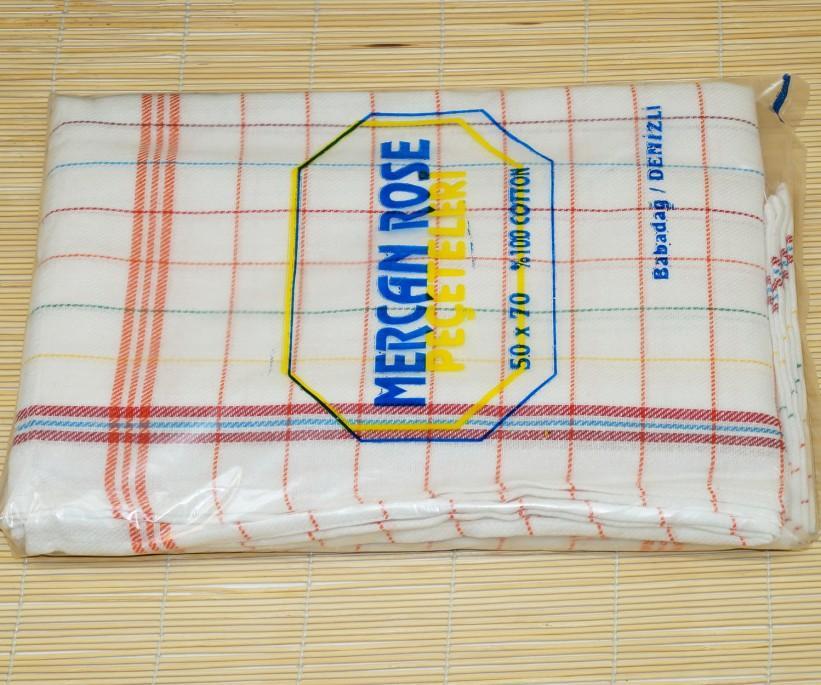 Льняные Кухонные Полотенце 50x70 см. 10 шт./уп. - Mercan Rose