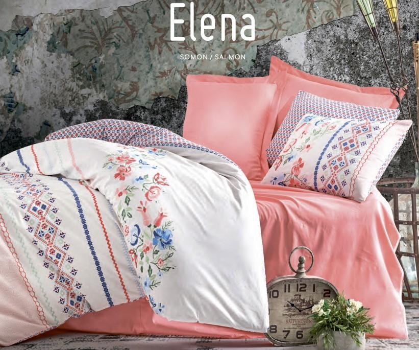 1 сп. Комплект Постельного Белья Ранфорс MODE LINE Elena Somon cotton box