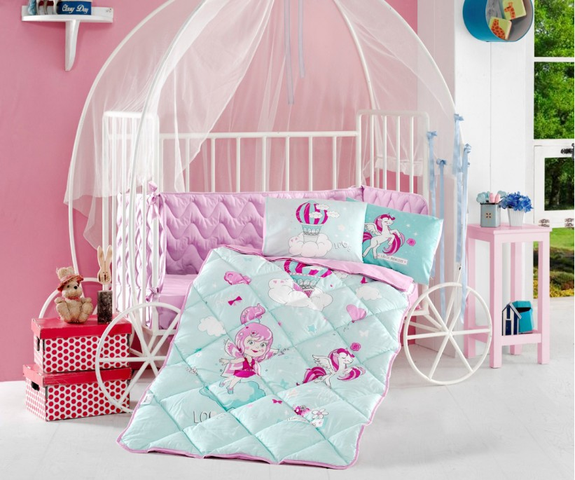 Детский Комплект Постельного Белья для Новорожденных Bebek - Clasy