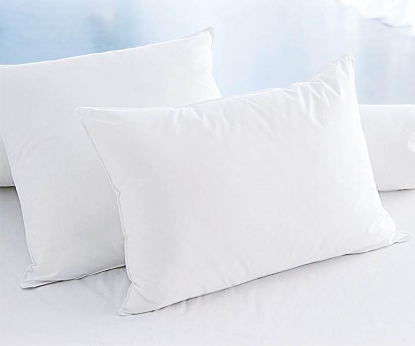 Yastık 2li Silikon 50x70 Düz Boya Beyaz