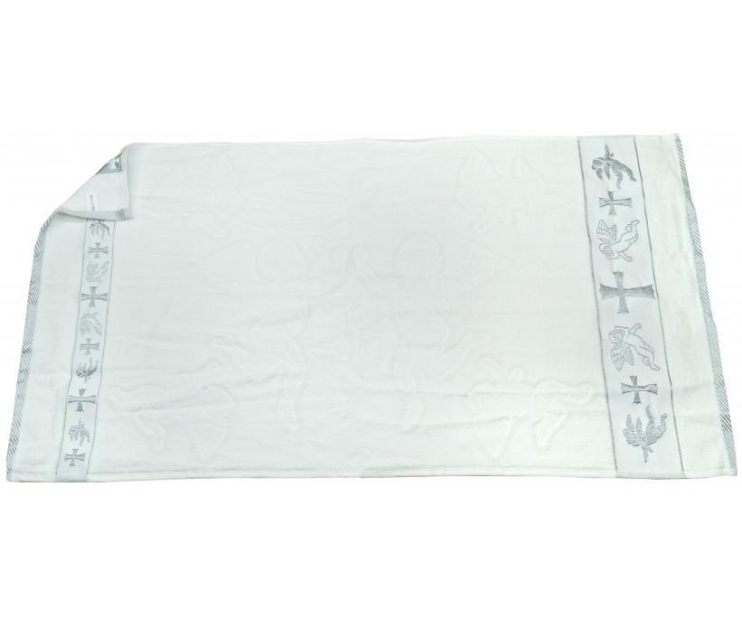 Крестильные Велюровые Жакардавые Полотенца 70x140 см 6 шт/уп 100% Cotton