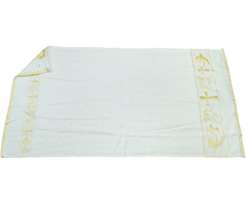 Крестильные Велюровые Жаккардавые Полотенца 50x90 см 12 шт/уп 100% Cotton