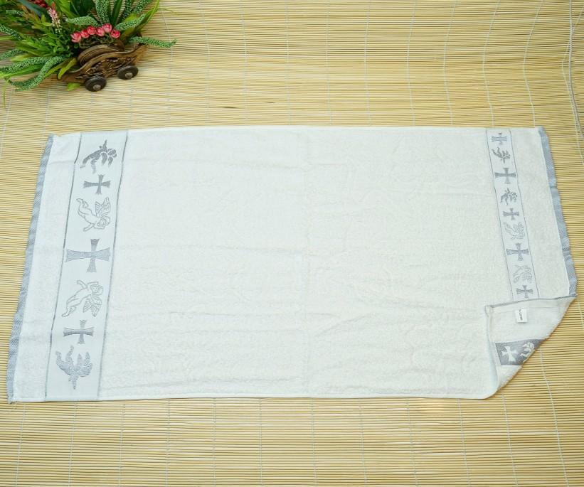 50x90 см 12 шт/уп Крестильные Махровые Жаккардавые Полотенца 100% Cotton