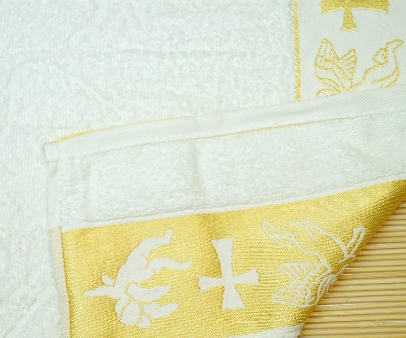 70x140 см 6 шт/уп Крестильные Махровые Жакардавые Полотенца 100% Cotton