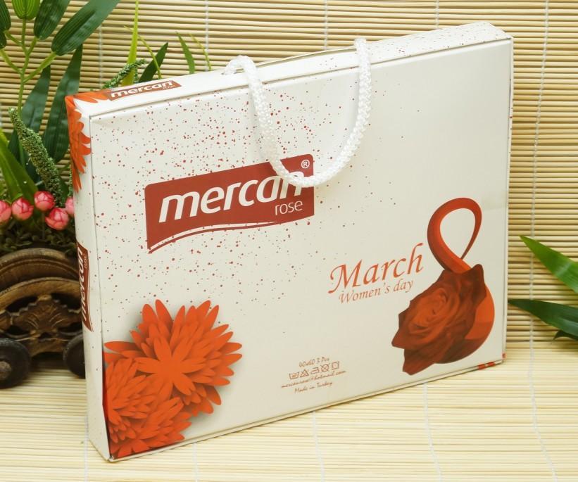 Набор Вафельных Полотенец 40x60 см 3 шт/уп (Рисунки Ассорти) Mercan