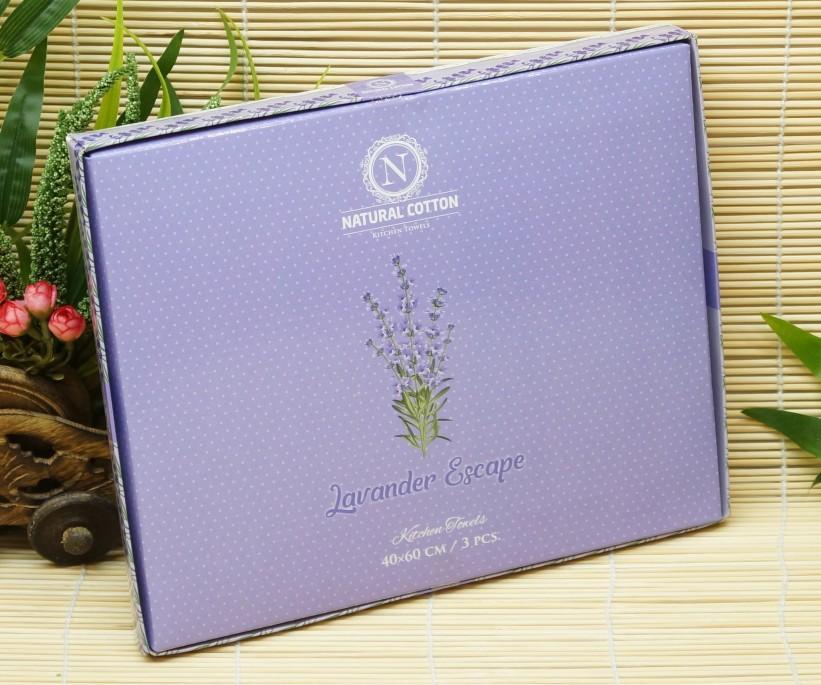 Набор Кухонных Вафельных Полотенец с Вышивками 40x60 см. 3 шт / уп. Nilteks