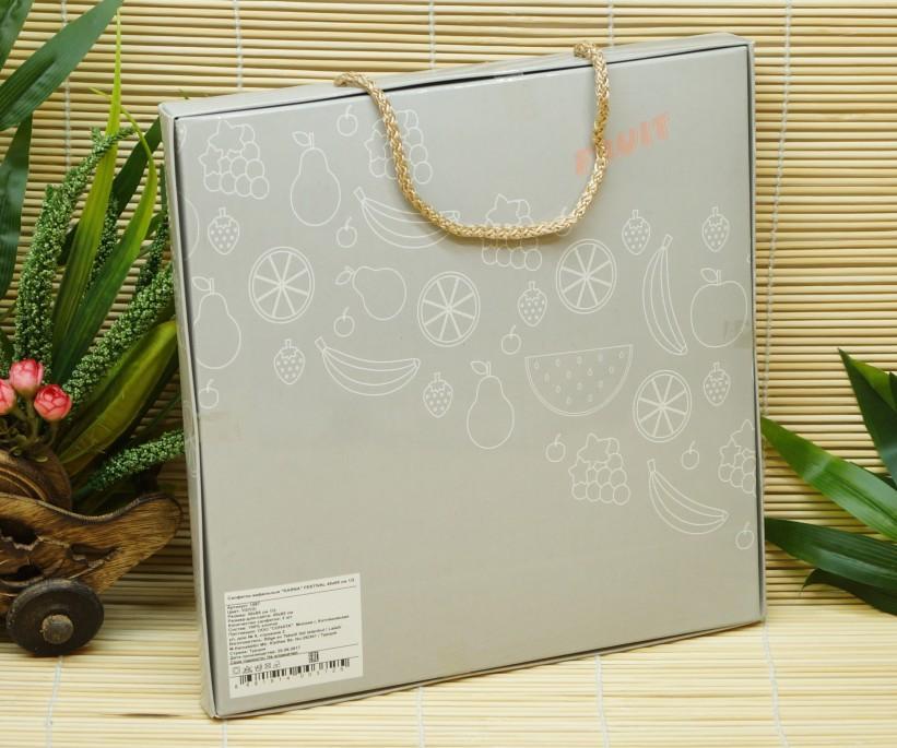 Набор Вафельных Полотенец 45x65 см 2 шт/уп (Рисунки Ассорти) KARNA