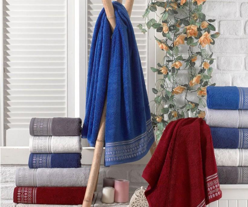 Бамбуковые Банные Полотенца 70x140 см. 6 шт/уп. Bamboo Royal - Sikel