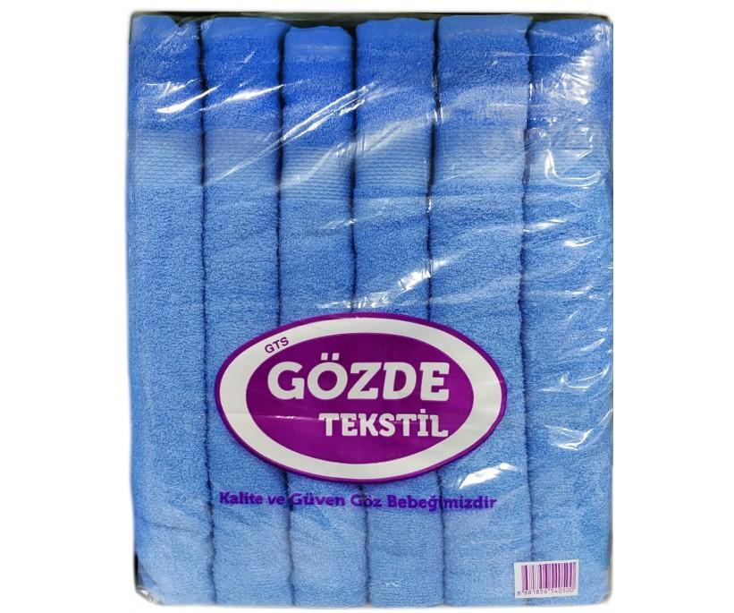 50x90 см. 12 шт/уп. Махровые Лицевые Полотенца Dry Gozde