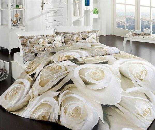 3D Постельное белье Евро Сатин First Choice 3D Saten Cotton Collection