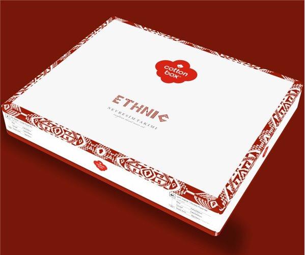 1 сп. Комплект Постельного Белья Ранфорс Ethnic Ranforce cotton box