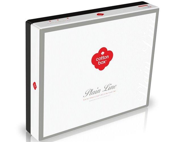 Комплект Постельного Белья Евро 2 сп. Ранфорс Plain Ranforce - cotton box