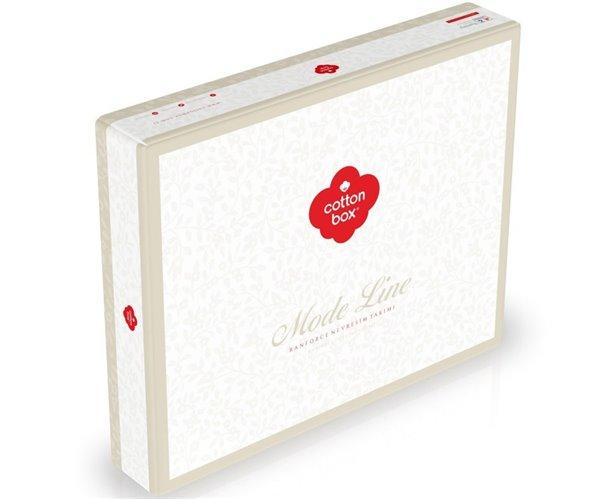 2 сп. Евро Комплект Постельного Белья Ранфорс MODE LINE cotton box