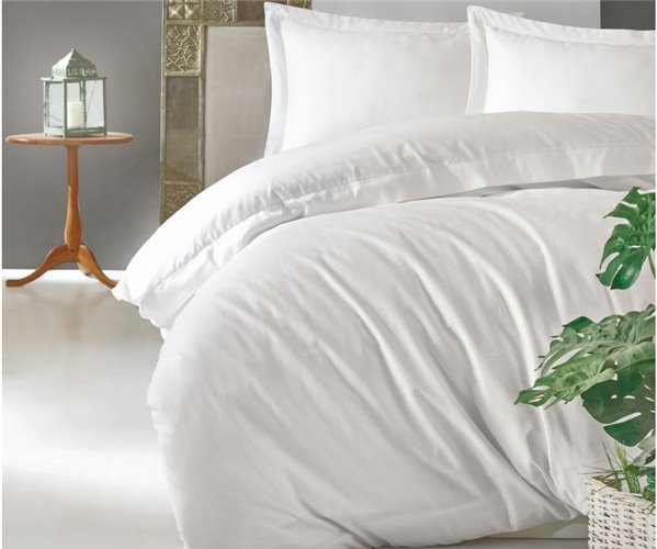Комплект Постельного Белья Евро 2 сп. Сатин Elegant Saten - cotton box