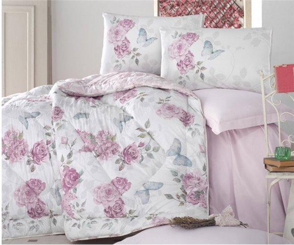 1 сп. Комплект Постельного Белья с Одеялом Ranforce MODELINE Uyku Seti - cotton box
