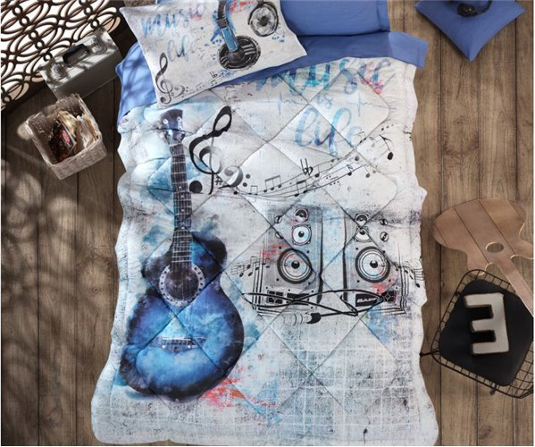 Подростковое КПБ с Одеялом Ranforce GIRLS&BOYS Uyku Seti - cotton box